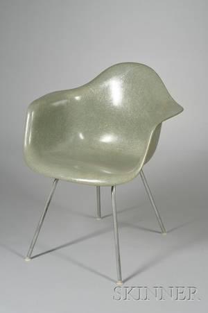 Modern Classic Fiberglass Armchair