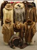 Group of Vintage Fur Items