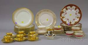 Group of Royal Doulton Wedgwood and Limoges Porcelain