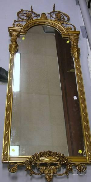 Late Victorian Giltgesso Mirror