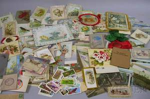 Large Lot of Miscellaneous Ephemera and Collectibles
