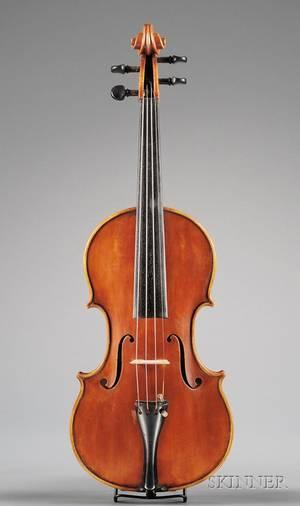 Modern Italian Violin Probably Pedrazzini Workshop c 1950