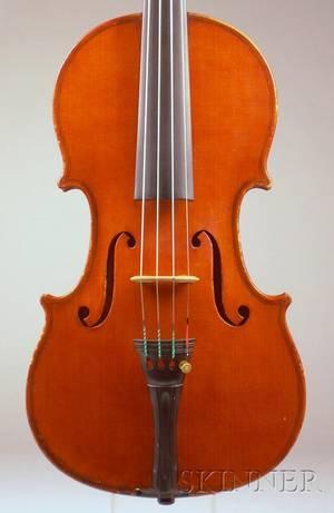 Modern Italian Violin Probably Giuseppe Lecchi Genoa 1939