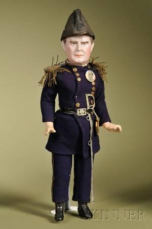 President William McKinley Portrait Doll