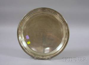 Towle Sterling Silver Presentation Tray
