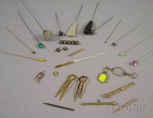 Group of Hat Pins