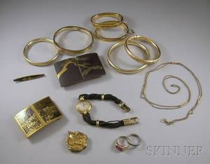 Group of Antique and Vintage Jewelry Items