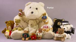 Approximately Seventysix Contemporary Collectible Teddy Bears