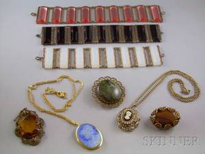Group of Victorianstyle Jewelry