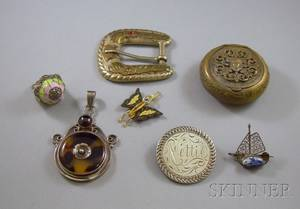 Group of Sterling Silver and Costume Jewelry Items