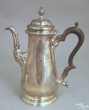 Georgian silver teapot ca 17511752