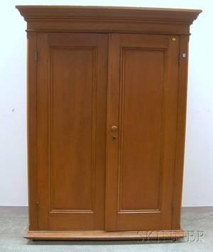 Cherry TwoDoor Wardrobe Cabinet