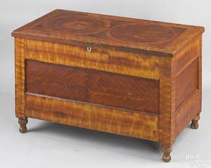 Pennsylvania painted blanket chest early 19th c