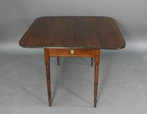 19th C English Mahogany Pembroke Table