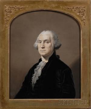 John Wood Dodge American 18071893 Portrait of George Washington
