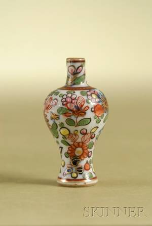Miniature Chinese Export Porcelain Vase