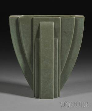 Claude Dumas Art Deco Pottery Vase