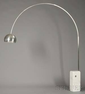 Achille and Pier Castiglioni Arco Floor Lamp