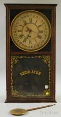 Sessions Oak Regulator Clock