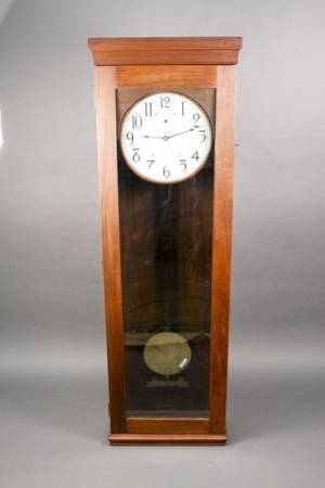International Time Recording Co Electric Clock