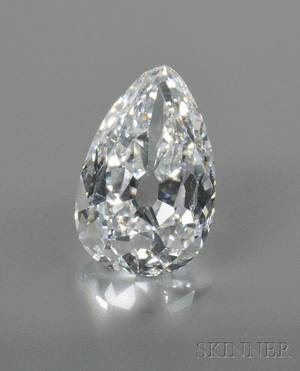 Important Unmounted Diamond