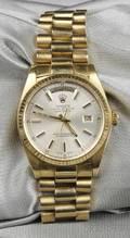 18kt Gold Wristwatch Rolex