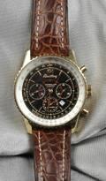 18kt Gold Navitimer Montbrilliant Wristwatch Breitling