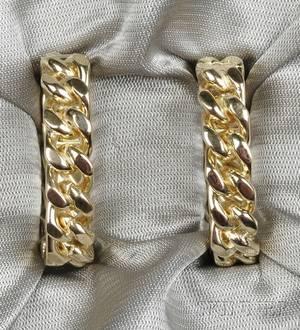 18kt Gold Cuff Links Tiffany  Co