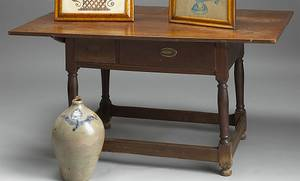 New Jersey walnut tavern table ca 1790