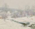 Ernest Albert American 18571946 Stream in Winter