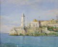 Carle John Blenner American 18621952 Morro Castle Havana Cuba