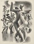 Miguel Covarrubias Mexican 19041957 The Lindy Hop