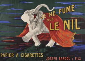 Leonetto Cappiello French 18751942 Je ne fume que le nil