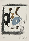 Georges Braque French 18821963 Verre et Pichet