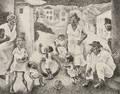 George Biddle American 18851973 Cat Fish Row