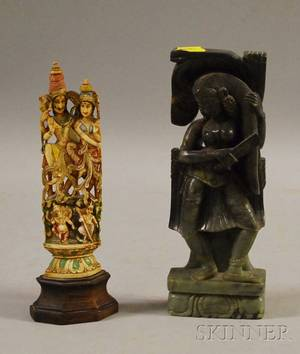 Two Indian Carvings