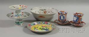 Six Asian Porcelain Items
