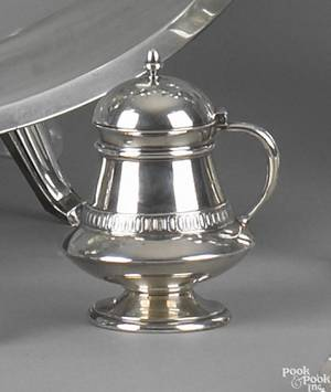 Group of Tiffany  Co sterling tableware