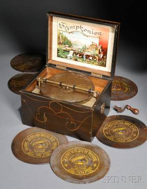 Symphonion 7 12inch Disc Music Box