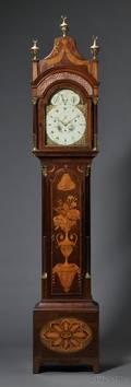 Daniel de St Leu Musical Mahogany Longcase Clock for the Turkish Market