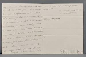 Van Buren Martin 17821862 Autograph Letter Signed London 8 December 1831