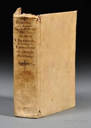 Medieval Text Manuscript Delectus Opusculorum