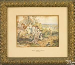 Myles Birket FosterBritish 18251899
