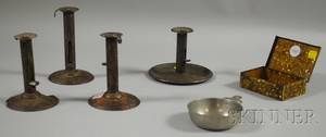 Six Assorted Metal Items