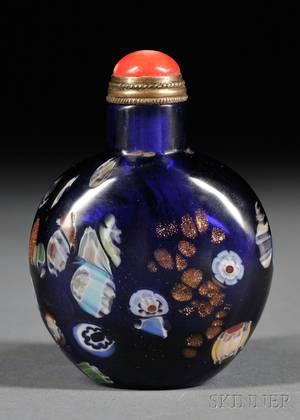 Art Glass Snuff Bottle