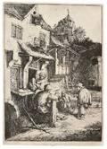 Adriaen Jansz van Ostade Dutch 16101685 The Hunchbacked Fiddler
