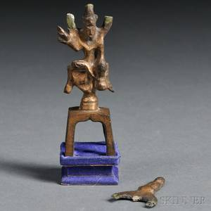 Giltbronze Figure of a Bodhisattva