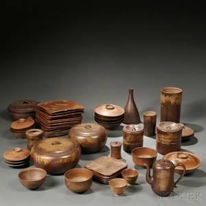Group of Bizen Pottery
