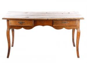 French Provincial Oak Table 18th C