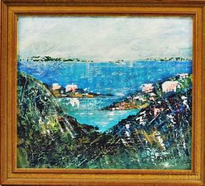 Alfred Birdsey Bermudian 19121996 Harbor View